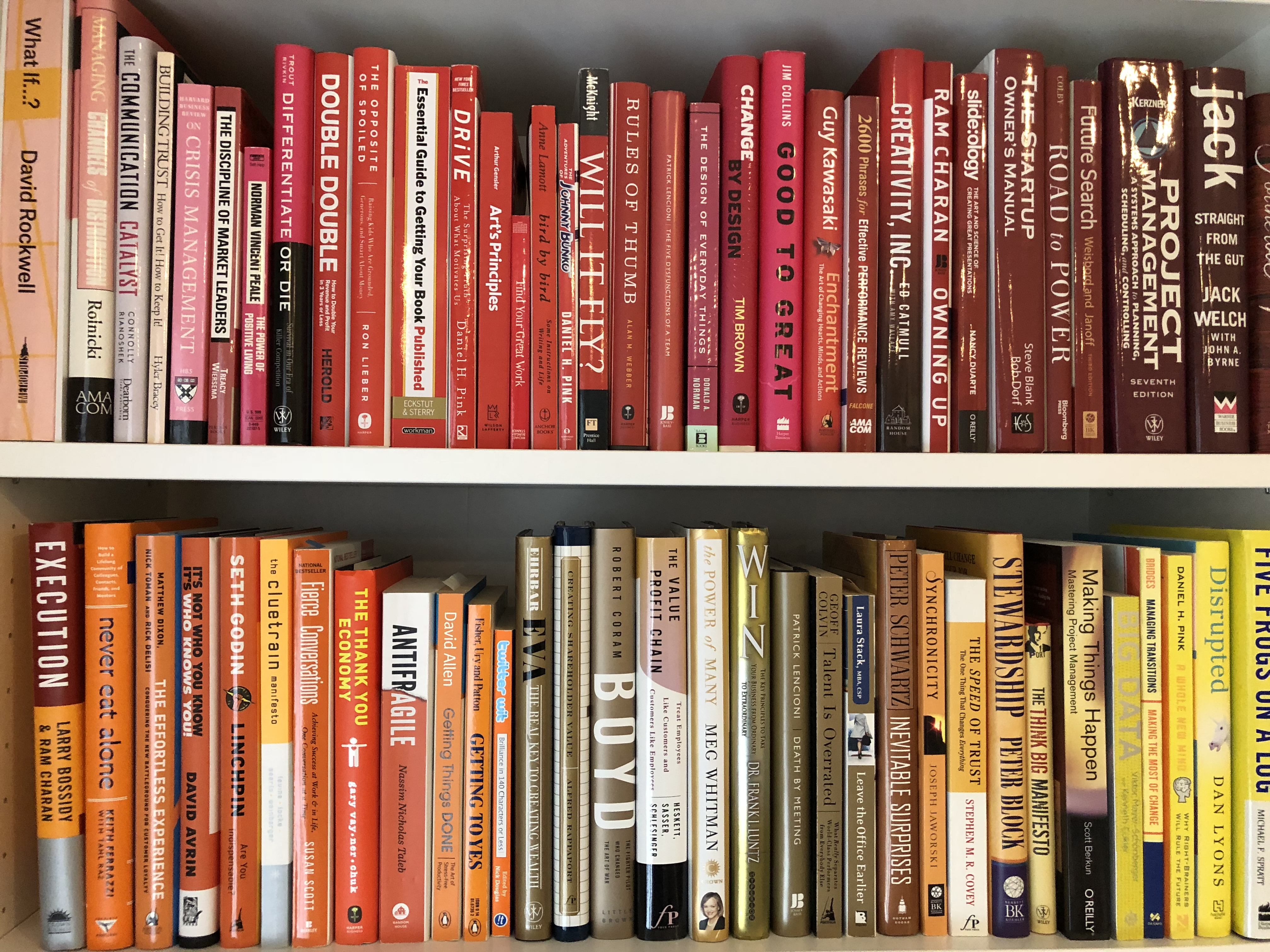 Color Code Your Life. How My Library Sparked My Creativity - Hire ...