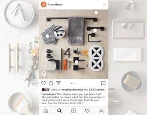 social media home depot